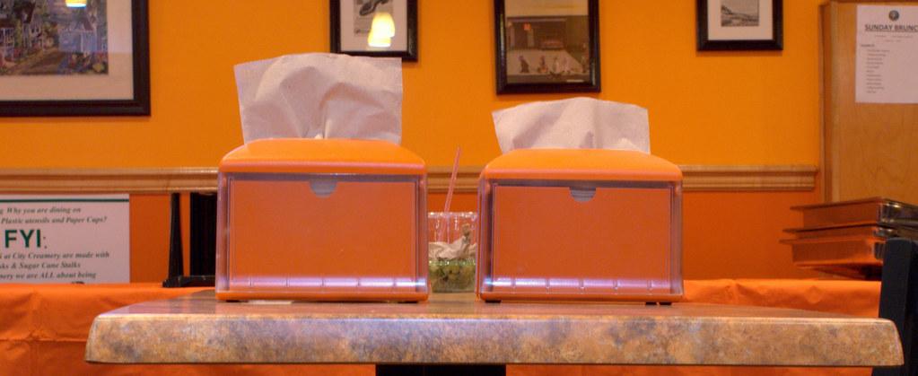 Napkin Dispensers at the Creamatorium   anaxolotl   Flickr