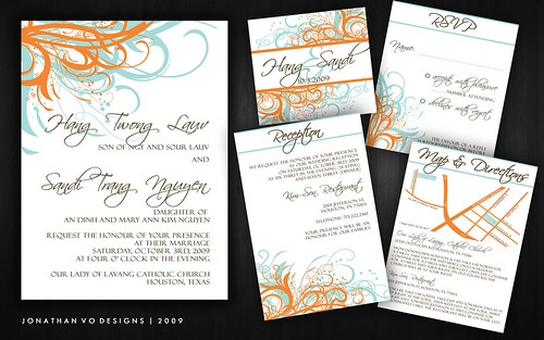 vietnamese wedding invitations  wedding invitation ideas from, invitation samples