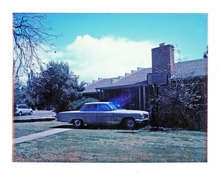 car in frontyard, Fresno, CA | by philippe*