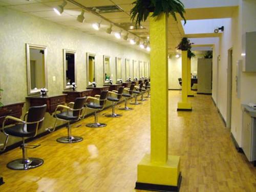 Beauty salon interior design simple hair salon design flickr - Salon equipment international ...
