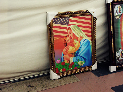 patriotic madonna and child | by BoringPostcards