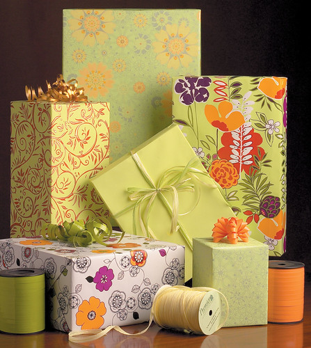 Floral Themed Gift Wrap | by Premier Packaging