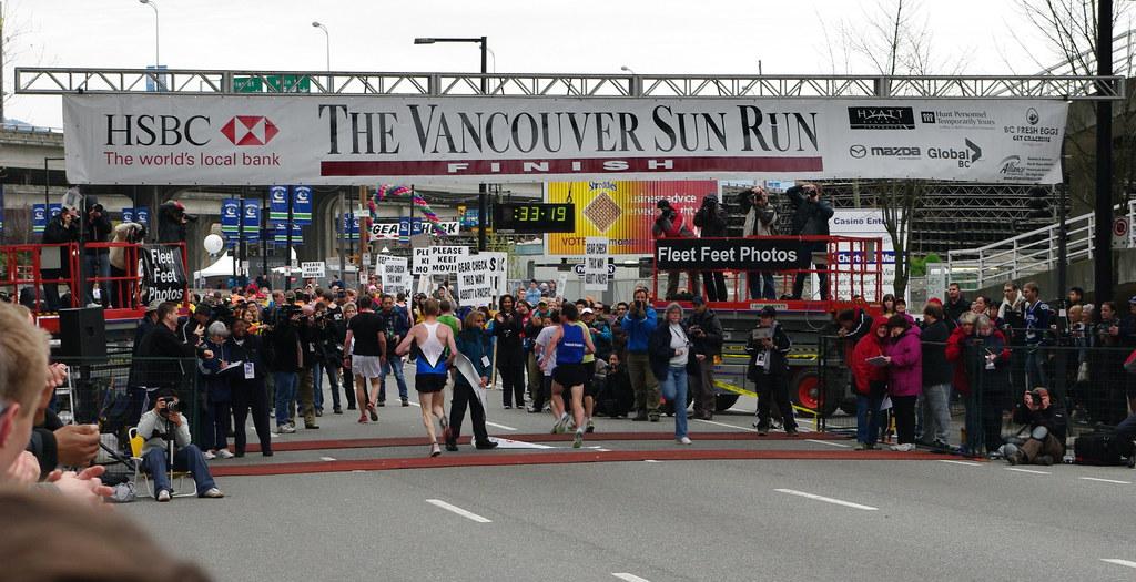 Vancouver Sun Run 2009   Flickr