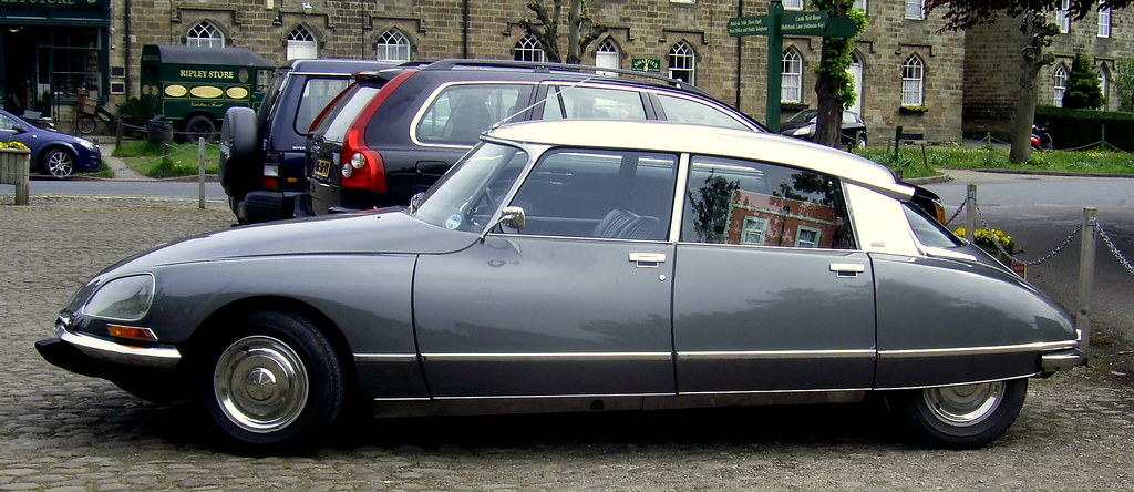 Most Beautiful Car Of All Time Citroen Ds 23 The Model S Flickr