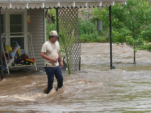 Grab a beer..your house is flooding | by Hot Flashes