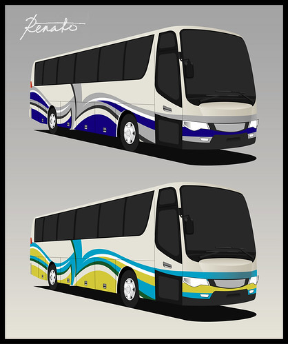 Abstract Bus Livery Design | Another abstract design... Take ...