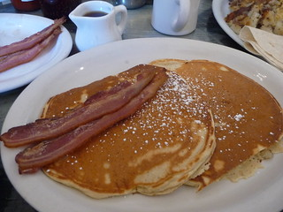 Pancakes and bacon | by theCSSdiv