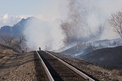 Fire along railroad | by cityofarvada