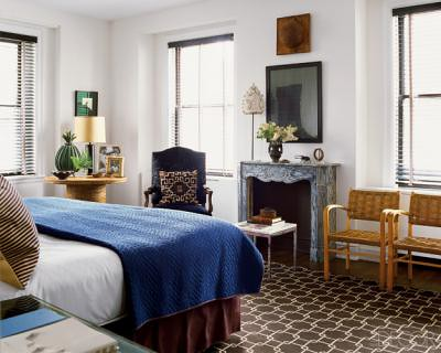 Blue Brown Bedroom Nate Berkuss Chicago Space Feature Flickr - Nate berkus bedroom designs