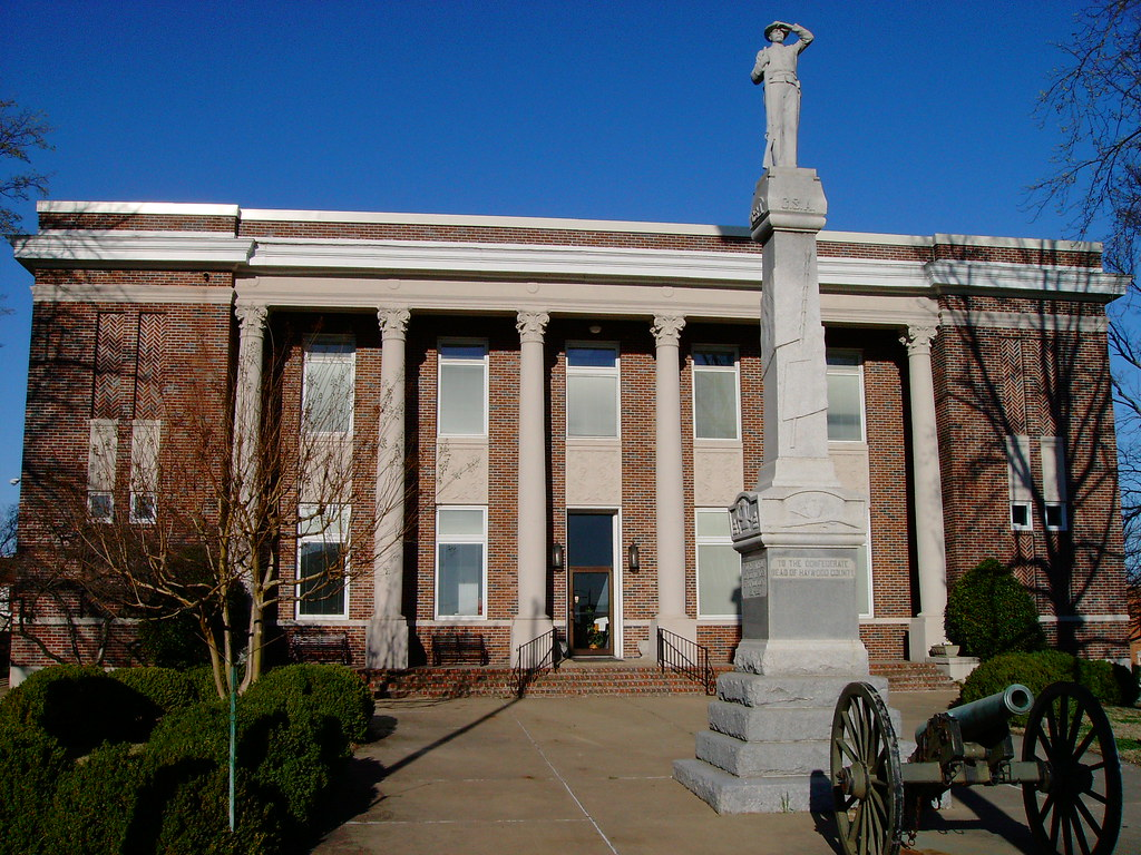 Tennessee haywood county brownsville -  Haywood County Courthouse And Civil War Monument Brownsville Tennessee By Courthouselover