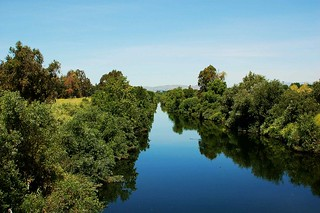 Los Angeles River in Burbank | by www.bridges-of-los-angeles-county