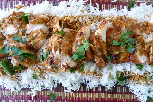grilled chicken with soy curry sauce i adore curry and soy flickr. Black Bedroom Furniture Sets. Home Design Ideas