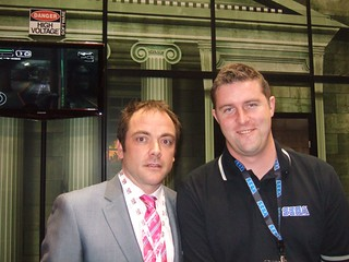 Mark Sheppard @ The High Voltage Software Booth | by SEGA of America