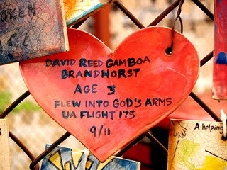 Tiles For America - David Reed Gamboa Brandhorst Age 3 United Airlines Flight 175 September 11th | by BOSOX Photographix