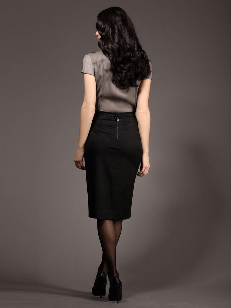 Rachel Roy Pencil Skirt (back) | Rachel Roy Julian Pencil Sk… | Flickr