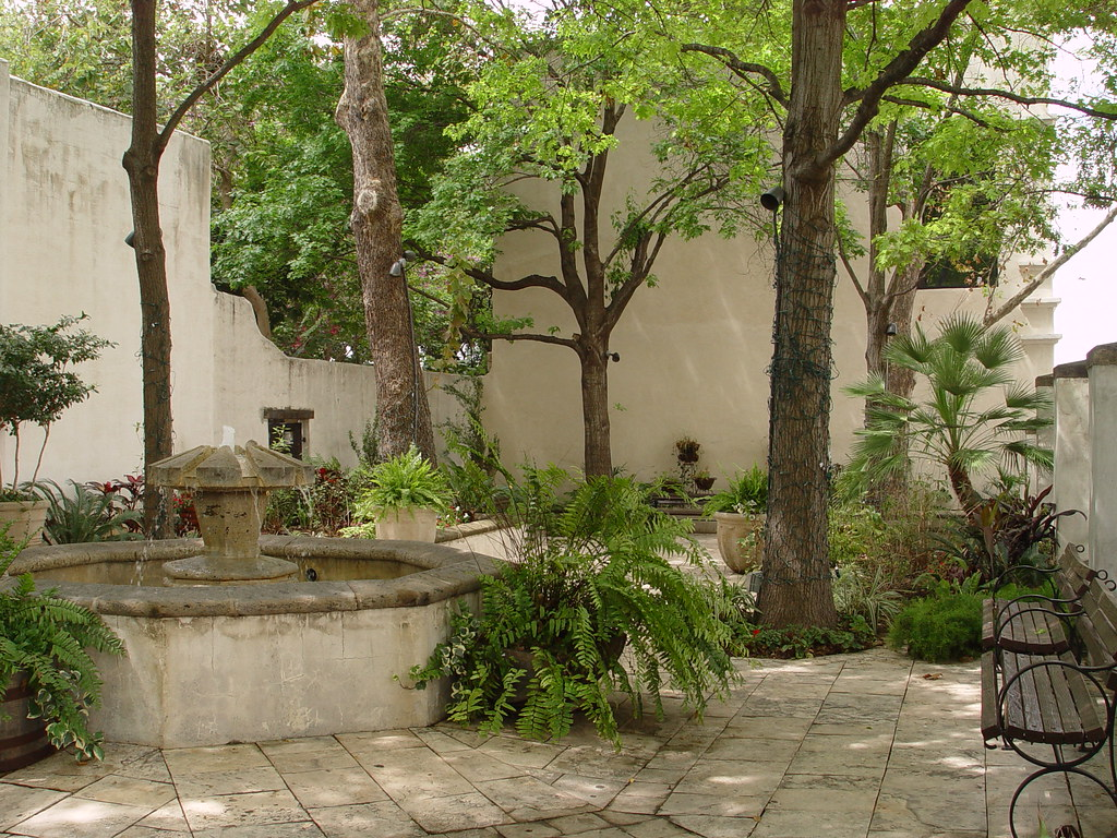 ... Patio   Spanish Governeru0027s Palace, San Antonio, Texas USA | By N3074Echo