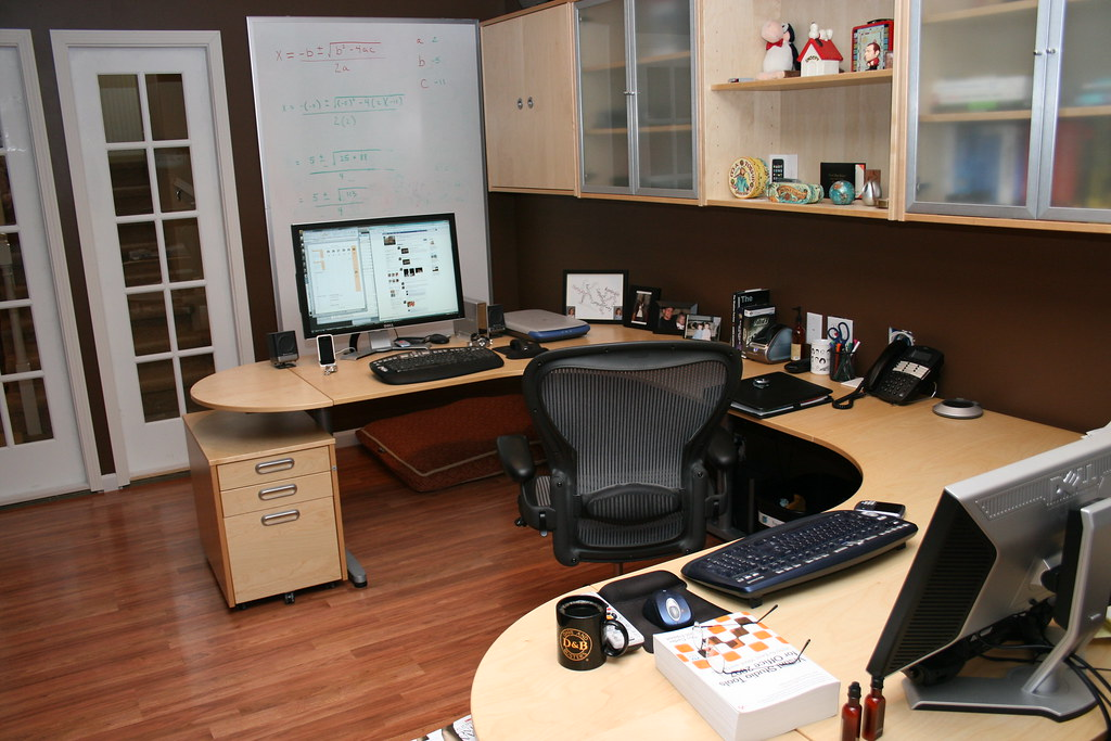 ... Basement Home Office | By Marty Nelson