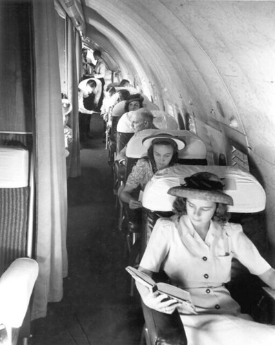 Passengers on a Pan Am Boeing 307 | by State Library and Archives of Florida