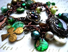 Me Ould Sod St. Patrick's Day Irish Celtic Celebration Bracelet | by Over the Top of NY