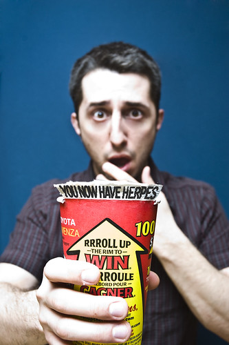 Day 120 - Roll up the rim | by Luc Pigeault