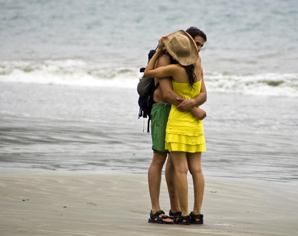 Hiker\'s Hug 5/5 - A warm embrace at the beach   Final frame …   Flickr