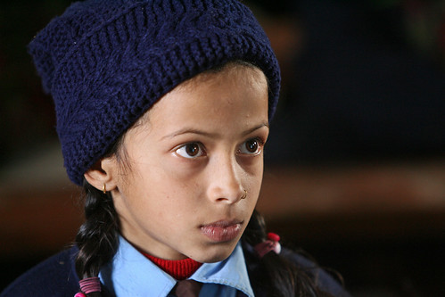 Girl Student at Shreeshitalacom Lower Secondary School. Kaski, Nepal. | by World Bank Photo Collection
