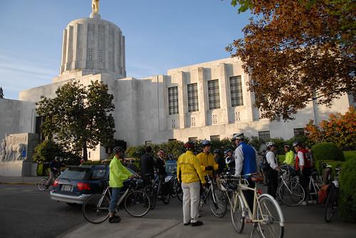 Legislator bike ride at the Oregon Bike Summit-9