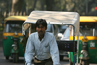 Rickshaws in Delhi | by World Bank Photo Collection