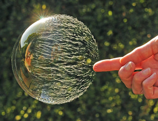 Bubbles don't POP, they RIP, SPLIT, TEAR, CRACK!!! | by richard.heeks