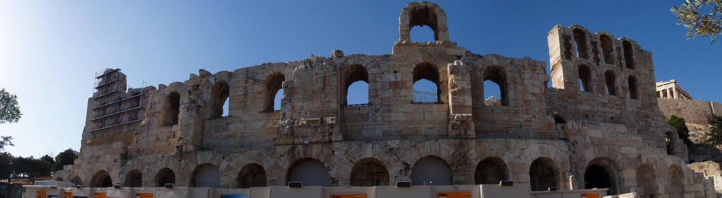 Herod Atticus Odeon at the Acropolis