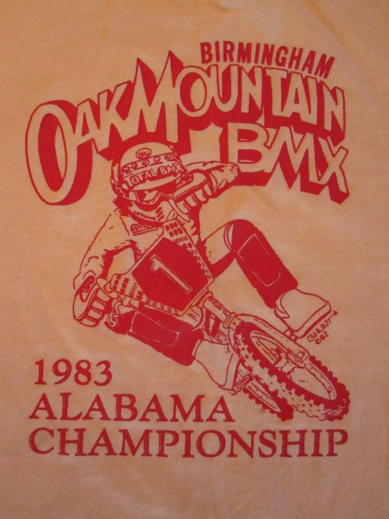 Vintage T-Shirt 1983 OAK MOUNTAIN BMX BIRMINGHAM ALABAMA C… | Flickr
