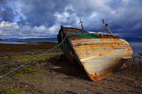 Salen Boats, Isle of Mull | by sparky2000