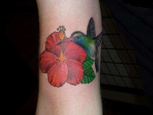 Free Hibiscus Flower Tattoo Designs
