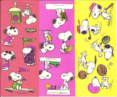 Snoopy bread premium stickers by gregg koenig