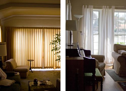 White Backed Room Darkening Stickers