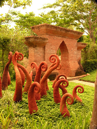 Fern Sculptures Fern Sculptures In Gardens Of American S