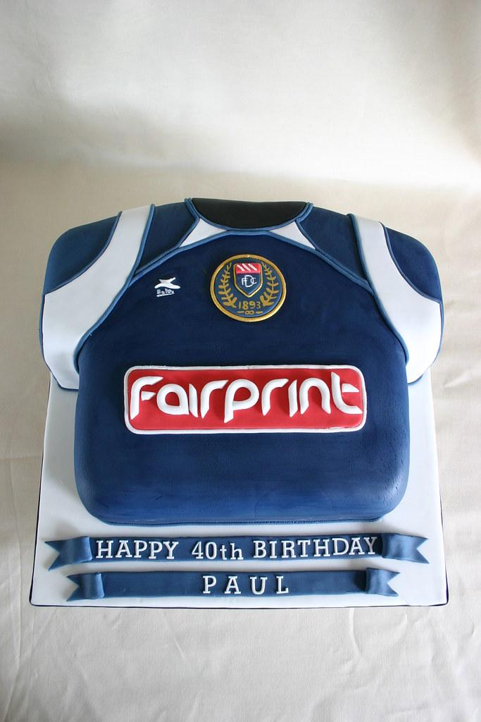 Birthday cake 280 dundee fc football shirt paula jane bourke birthday cake 280 dundee fc football shirt by scrumptious cakes by paula publicscrutiny Images