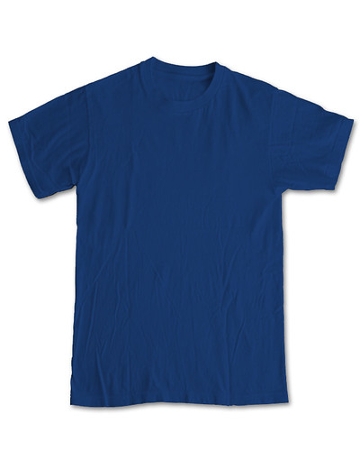 Blue T Shirt Template Blank Tee Photos Flickr