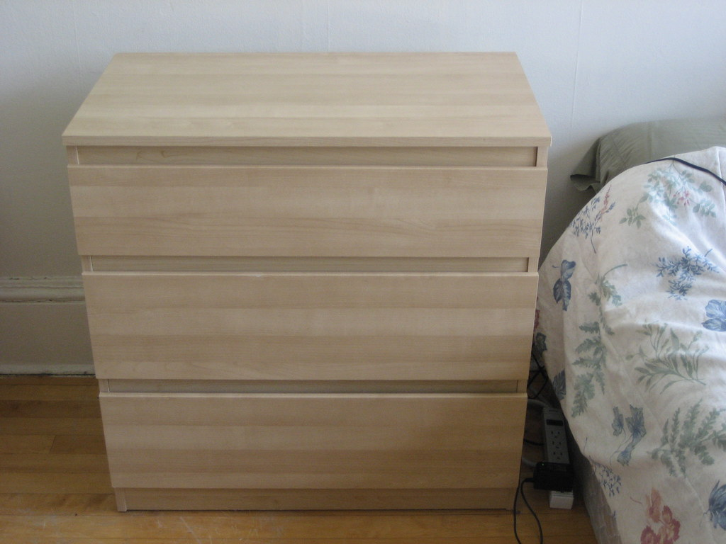 sold! ikea 'kullen' 3-drawer chest - $30 | new condition (le… | flickr