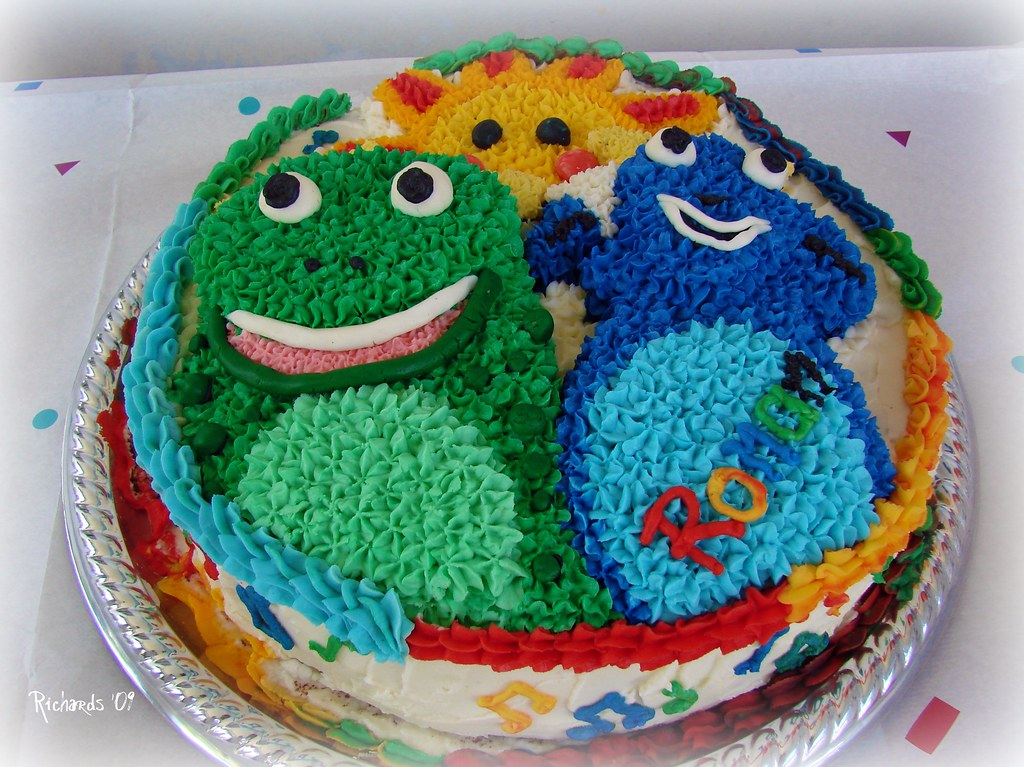 Baby Einstein Birthday Cake Amanda Richards Flickr