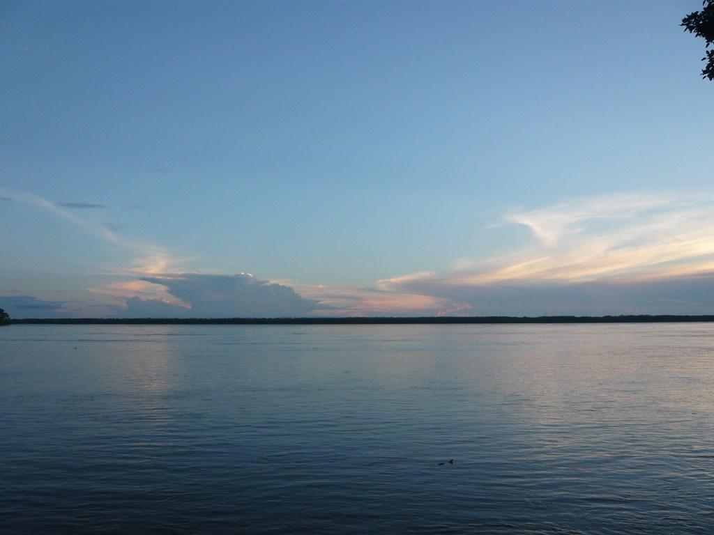 Paisajes del río Amazonas