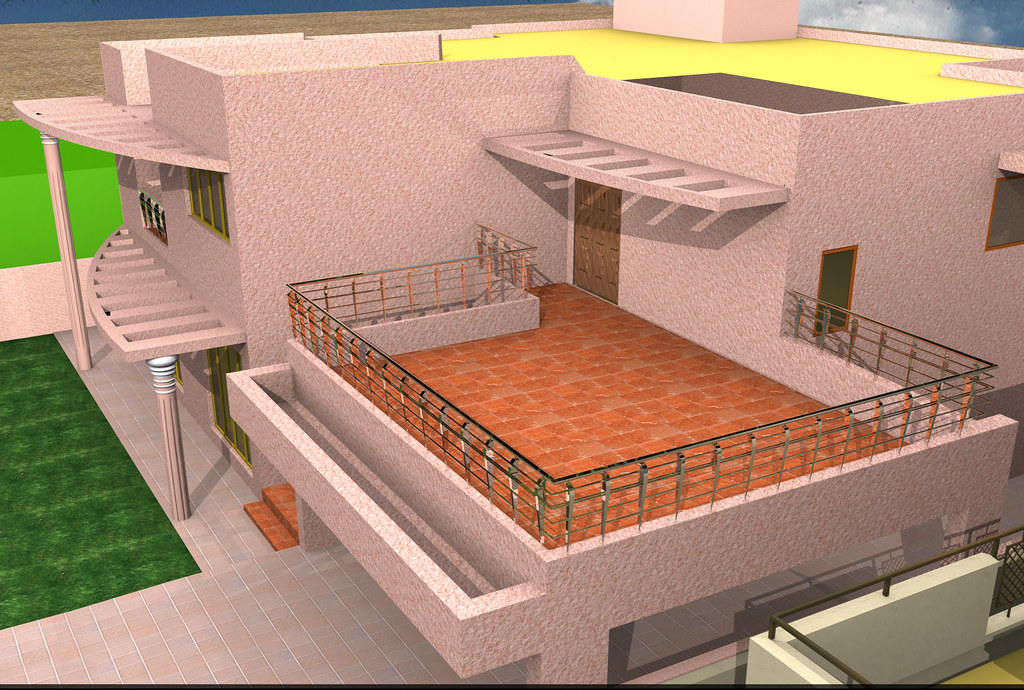 3D HOUSE Option 4 Location Karachi DHAOffice Interior Design By SHEHAZAD 03212152122