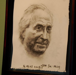 Bernie Madoff  by Yan Pei-Ming  at San Francisco Art Institute - 159 | by Steve Rhodes