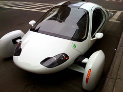 Aptera's Super-MPG Electric Typ-1 e Car | by johncatral