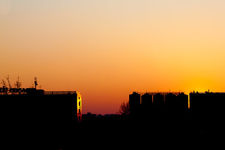 Day 30 - Obolon sunset | by Mourner