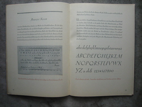 Koch Kursiv | by interrobang letterpress