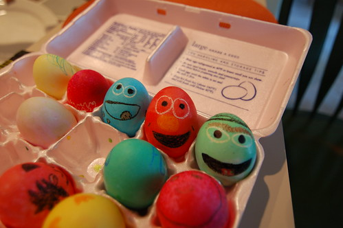 Sesame Street eggs | by elvissa