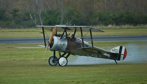 Sopwith Camel taking off, Masterton, New Zealand, April 2009 | by PhillipC