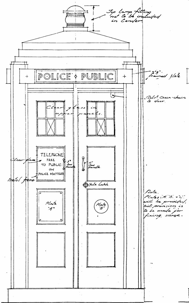 Blueprint police box mark 1 part 01 this is the exterio flickr blueprint police box mark 1 part 01 by starcross malvernweather Images