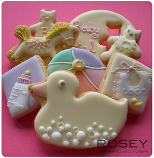 COCO's Baby Shower Cookies July 2009 | by rosey sugar